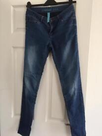 Denim jeans size 8
