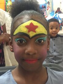 CHILDREN - FACE PAINTING IN THE COMFORT OF YOUR HOME