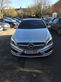 Mercedes-Benz A Class 2.0 A250 BlueEFFICIENCY AMG 7G-DCT 5dr (ENG)+PANROOF+SATNAV+LEDS+TOP SPEC+