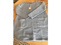brand new Joules dusty blue tunic