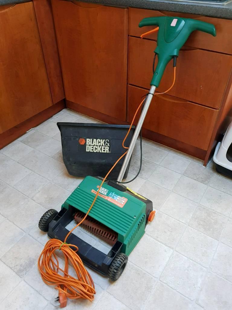 Black and decker lawn raker sacrifices GD200