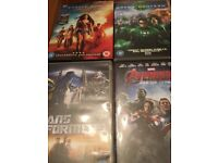 DVD Wonderwoman plus three in Superhero Box set