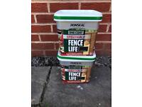 Ronseal One Coat Sprayable Fence Paint - Forest Green