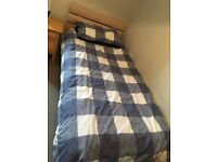 2 Single Beds For Sale - With Mattress and Bedding!