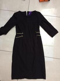 Seraphine work dress / like new / black size 8