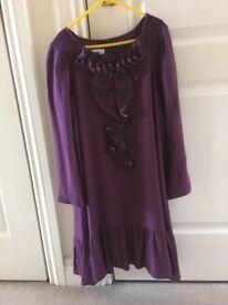 Purple Monsoon girls dress