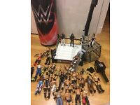 WWE ring, characters and more