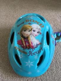 Frozen cycle helmet