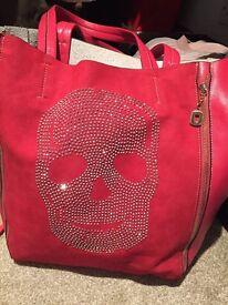 Ladies pink bag