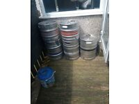 Empty beer kegsforsale