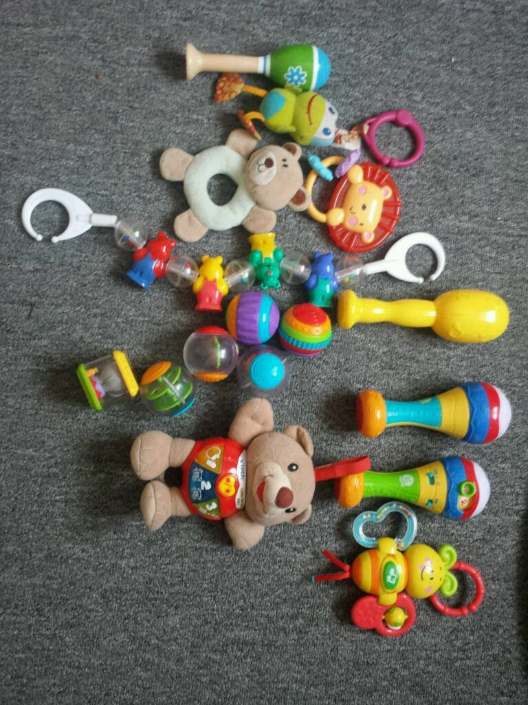 big bundle of baby/kids toys