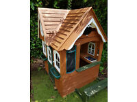 costco playhouse playcottage wooden
