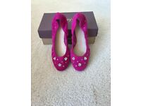 CLARKS COLVELLY VIEW PINK PUMPS BNIB SIZE 6