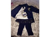 Girls mini mouse outfit 6-9 months