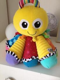 Lovely Lamaze Musical Octopus