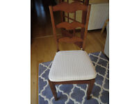 Set of 6 dining chairs from Marks and Spencer in mango wood