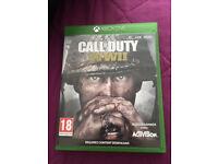 Call of duty world war 2 XBOX ONE