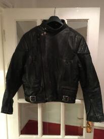 Sportex Leather Motorbike Jacket Size 42