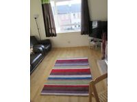 Large, 2 double bedroom flat with private garden for rent in popular Edinburgh location.