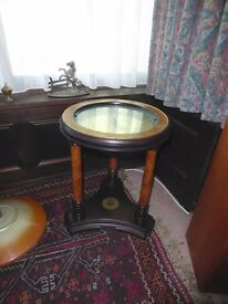Franklin Mint Royal Geographical Society Clock Table