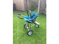 Quinny Speedi Full Travel System in Oceanic Blue - Excellent Condition