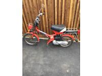Honda Express 2, 50cc moped