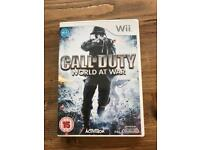 Call of Duty - World at War - Wii game