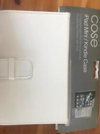 iPad mini /kindle case x 2 White brand new with labels still attached