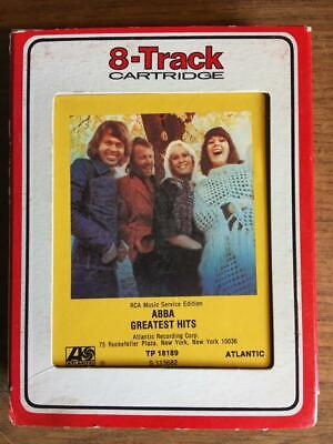 ABBA GREATEST HITS VINTAGE RARE RCA 8 TRACK TAPE TESTED LATE NITE BARGAIN!