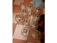 10 glass demi jons