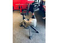 Commercial Gym Spin Exercise Bike With Monitor!