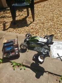 Dbx ve 2.0 remote control car