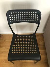 Black chair - Ikea, excellent condition