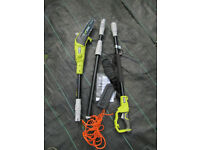 Ryobi RPP750S Pole Pruner/Chain Saw with Extension Pole