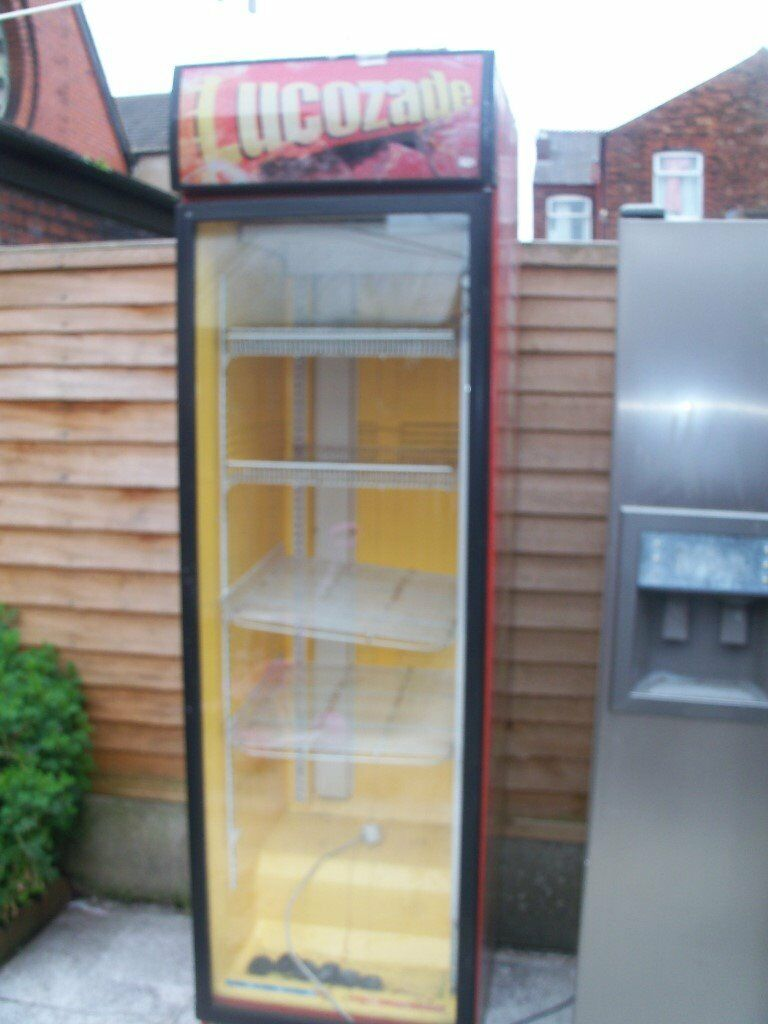 Lucozade Drinks Fridge Chiller Refrigerator Fully Working