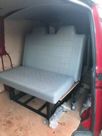 campervan - rock n roll bed m1 crash tested by jds metaltch in vw fabric