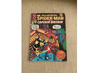 SUPER SPIDER-MAN & CAPTAIN BRITAIN Comic - No 251 - Date 30/11/1977 - Marvel