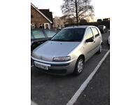 Fiat Punto 1.2 -2003 model-only covered 89k miles-cheap insurance