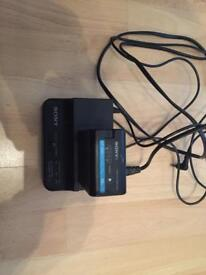 Sony charger bc-u1 with Bp-u60 battery