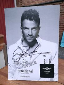 Peter Andre sign picture