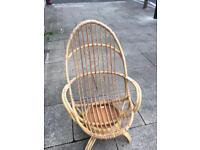 Fantastic pr of 1970s Bamboo chairs