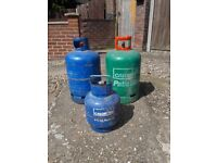 gas bottles for sale £10 each