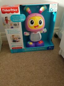 Brand new fisher price dance and move beatbelle