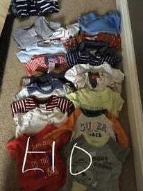 0-3 tshirt bundle