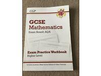 AQA GCSE Mathematics Practise Workbook
