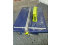 Challenge xtreme 800w table saw in working order