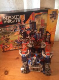 Lego Nexo Kights The Fortrex age 9-14