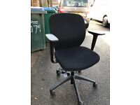 Black Operator Swivel Chairs Office Furniture .