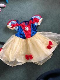 Snow White Dressing up Costume 18/24m