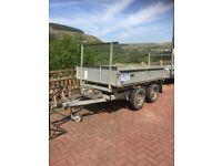 Ivor williams 8x5 tipper trailer